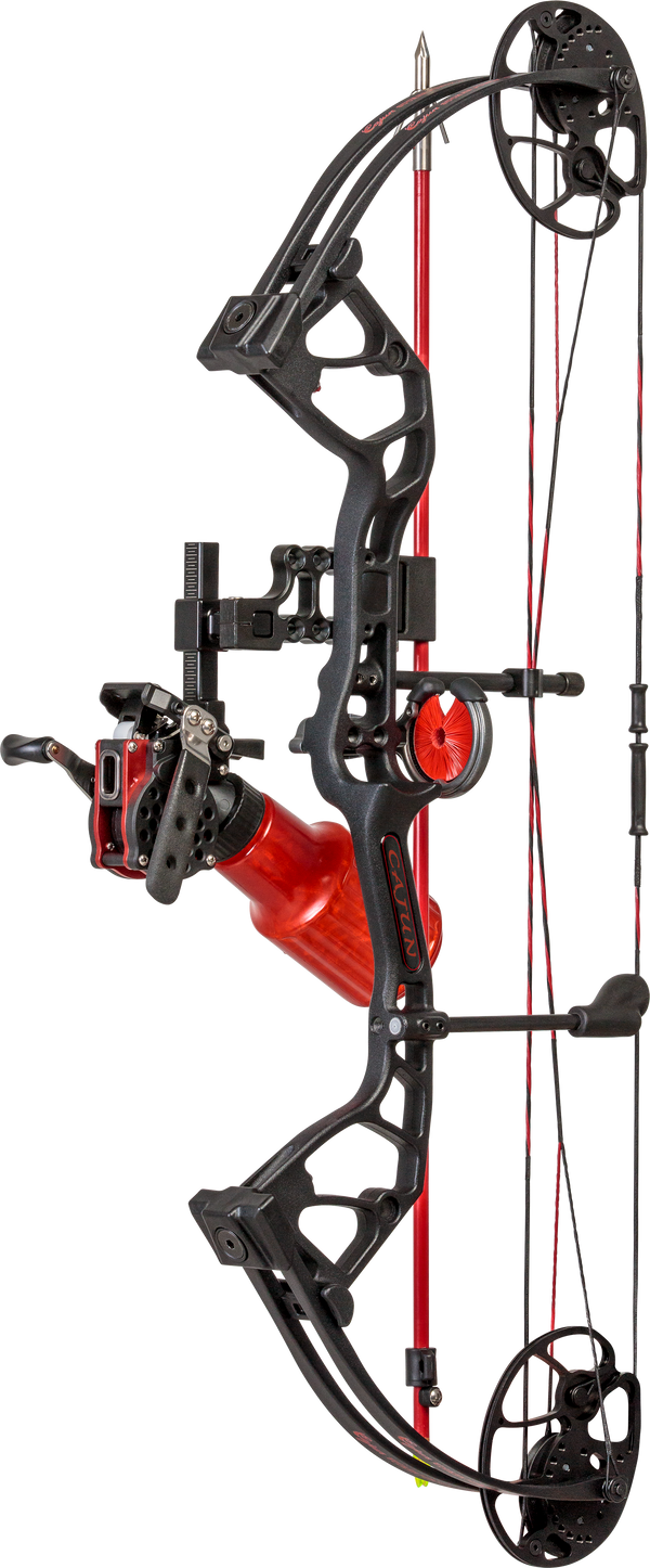 Cajun Sucker Punch Jr. Black Bowfishing Bow_1