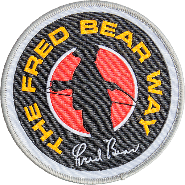 Bear Fred Bear Way Patch Archery Accessories_1