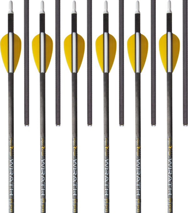 Trophy Ridge Wrath 400 Spine Fletched Carbon Arrows Arrows_1