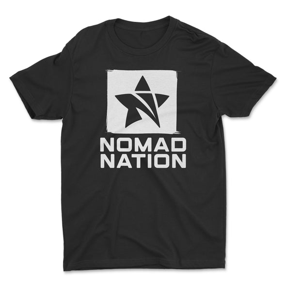 Nomad Nation Stacked Logo Shirt