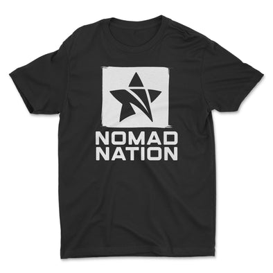 Nomad Nation Stacked Logo Kids Shirt