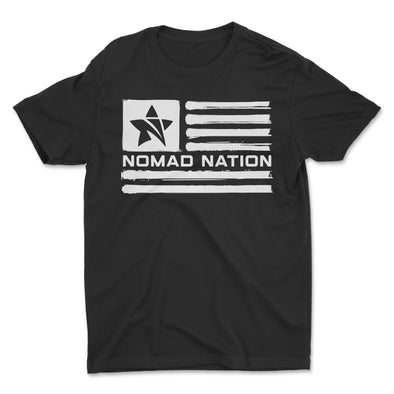 Nomad Nation Flag Kids Shirt