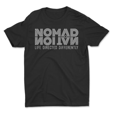 Nomad Nation Flipped Logo Kids Shirt