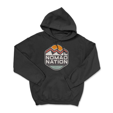 Nomad Nation Mountain Badge Hoodie