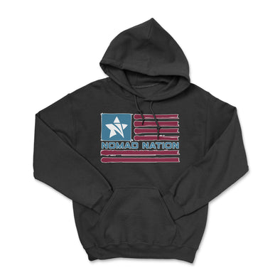 Nomad Nation Flag Hoodie- Color