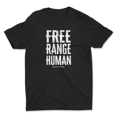 Free Range Humans Kids Shirt