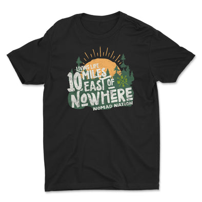 10 Miles East of Nowhere Kids Shirt