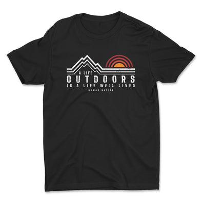 A Life Outdoors Kids Shirt