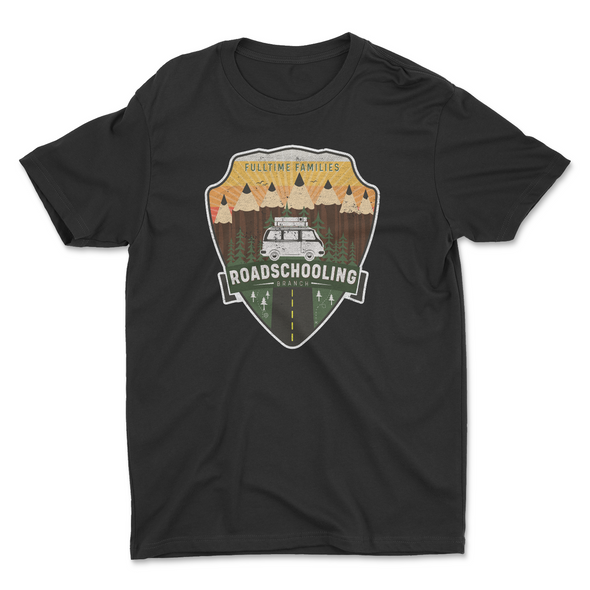 FTF Roadschooling Branch Kids Shirt