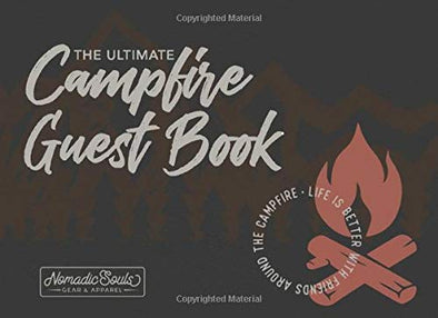 The Ultimate Campfire Guest Book: Mountain Scene Cover - Matte