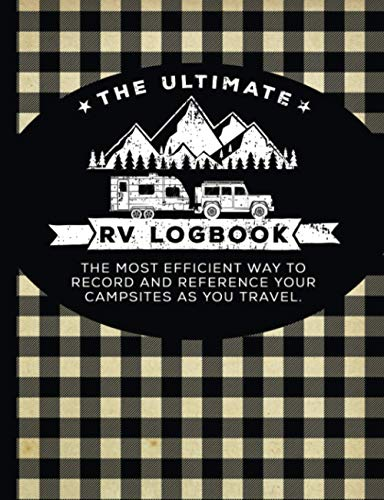 The Ultimate RV Logbook: Buffalo Plaid Cover - Matte
