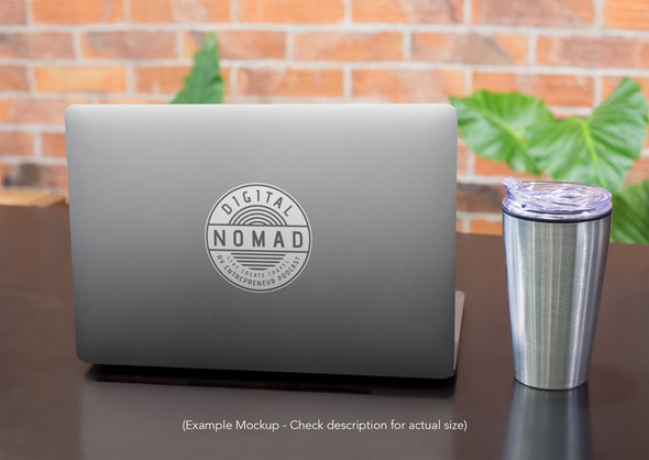 Digital Nomad Sticker