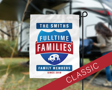 Fulltime Families Flag - Family Reunion Pickup
