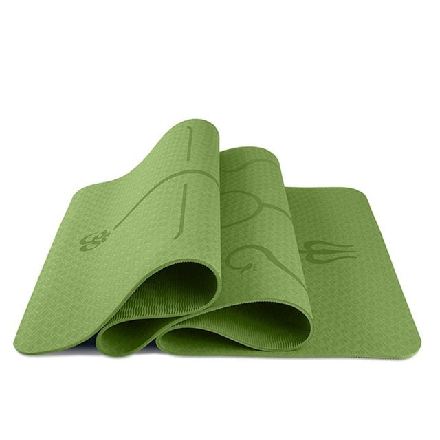 1830*610*6mmTPE Yoga Mat Environmental Protection