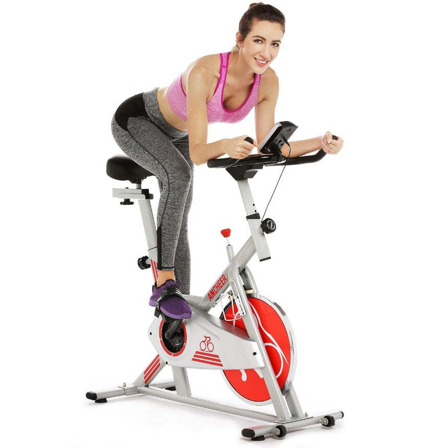 Two-way Belt Exercise Spinning Bike