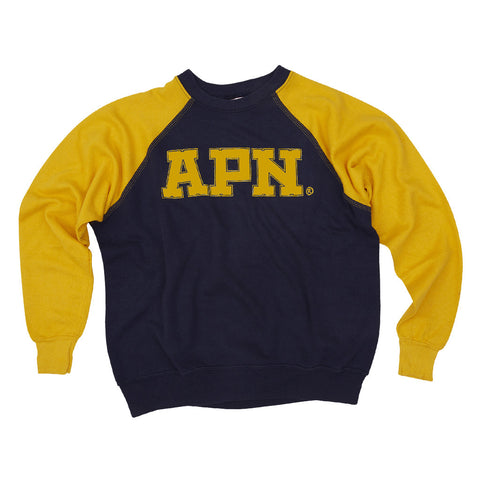 APN vintage 'V V' TRIPL stitch Sweatshirts (double down)