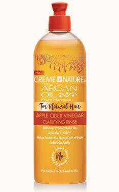 Creme of Nature Argan Oil Apple Cider Vinegar Clarifying Rinse