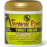 Tropical roots twists cream