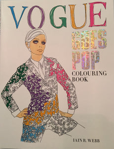 Vogue Goes Pop - Colouring Book - plum.boutique - 1