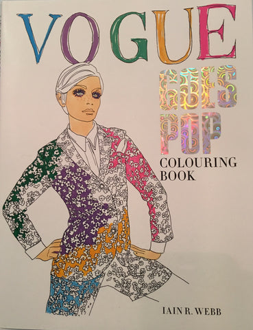 Vogue Goes Pop - Colouring Book