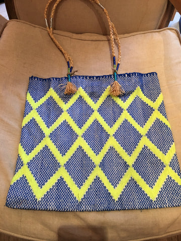 Enshalla Blue & Green Bag