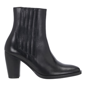 Rabens Saloner black leather ankle boot