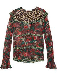 Maison Scotch All Over Printed Top