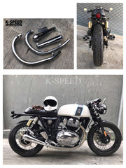 K-SPEED-GT02 マフラー ROYAL ENFIELD GT650 & Interceptor650
