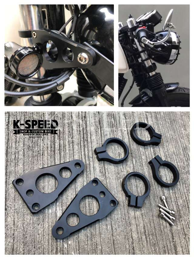 K-SPEED-GT04 CNCヘッドライトマウント ROYAL ENFIELD GT650