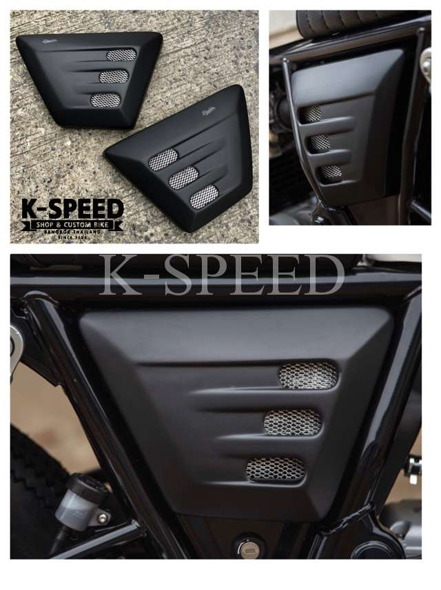 K-SPEED-GT16 サイドカバー ROYAL ENFIELD GT650 & Inceptor650