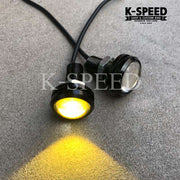 K-SPEED-LED111 Blinkers Rebel250, 300 & 500: Rebel Black Armor