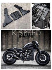 K-SPEED-RB0084 アンダーカウル Rebel250, 300 & 500: Rebel Diablo Custom2: Rebel Black Armor