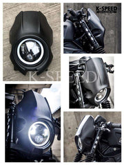 K-SPEED-RB0088 Headlight Rebel250, 300 & 500: Rebel Diablo Custom Works2