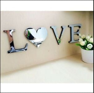 Stylish Love Wall 3D decor !