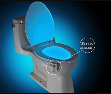 Led Motion Detection Multi Colour Toilet Light