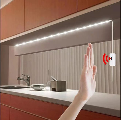 DC 5V Lamp USB Motion LED Backlight LED TV Kitchen LED Strip Hand Sweep Waving ON OFF Sensor Light diode lights