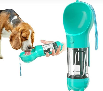 Pet multifunction water bottle and waste removal 2020