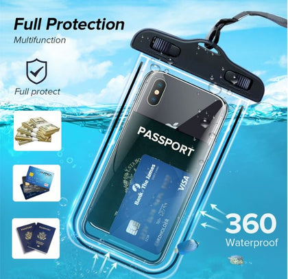 Universal Airbag Waterproof Pouch Phone Case