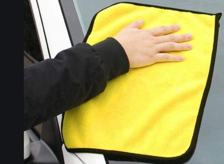 Car microfibre wax wash polishing detailing towel