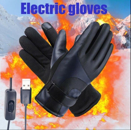 Winter Usb Powered Electric Heated Gloves