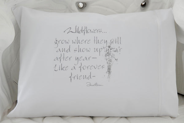 Wildflowers Grow Pillow