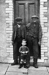 2 - Images from the Archive.  Wattstown miner & his two sons.