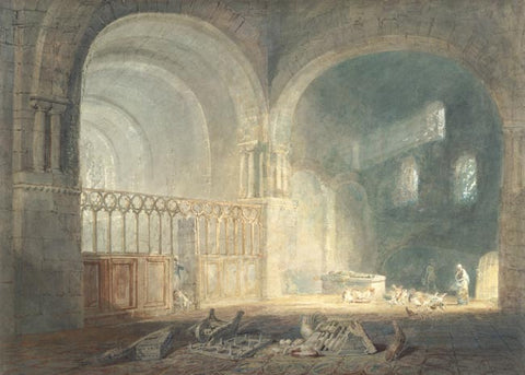 Turner, Joseph Mallord William. Transept of Ewenny Priory, Glamorganshire. (1797 ca)
