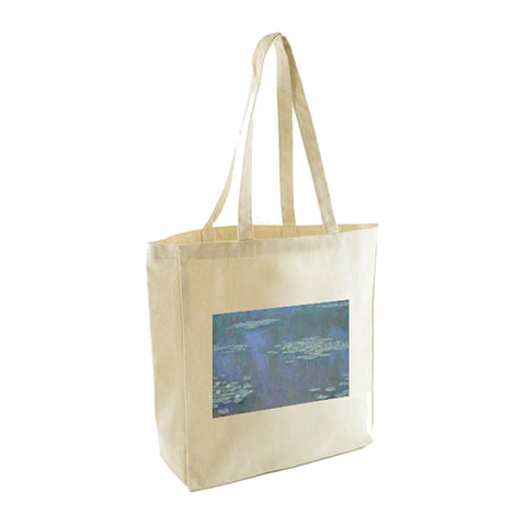 Monet Canvas bag - Waterlilies