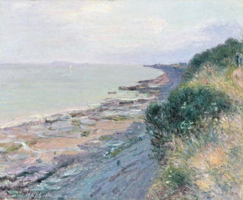 Sisley, Alfred. Cliffs at Penarth