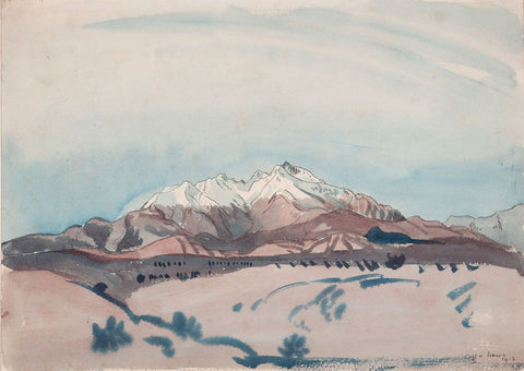 Innes, J.D. Welsh Mountains
