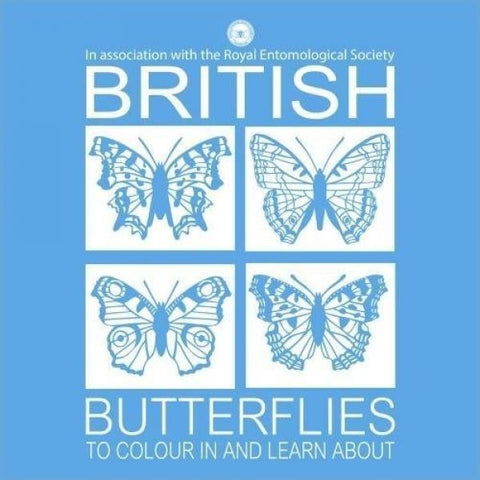 British Butterflies to Colour in and Learn About