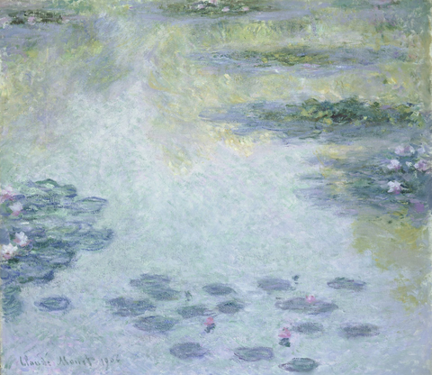 MONET, Claude. Waterlilies (1906)