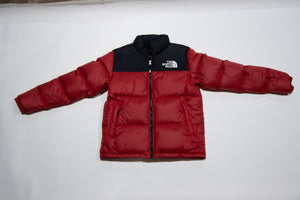 Boys' Nuptse Blk/Red