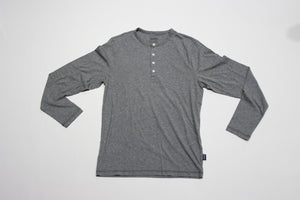 Mens' Daily Henley Grey